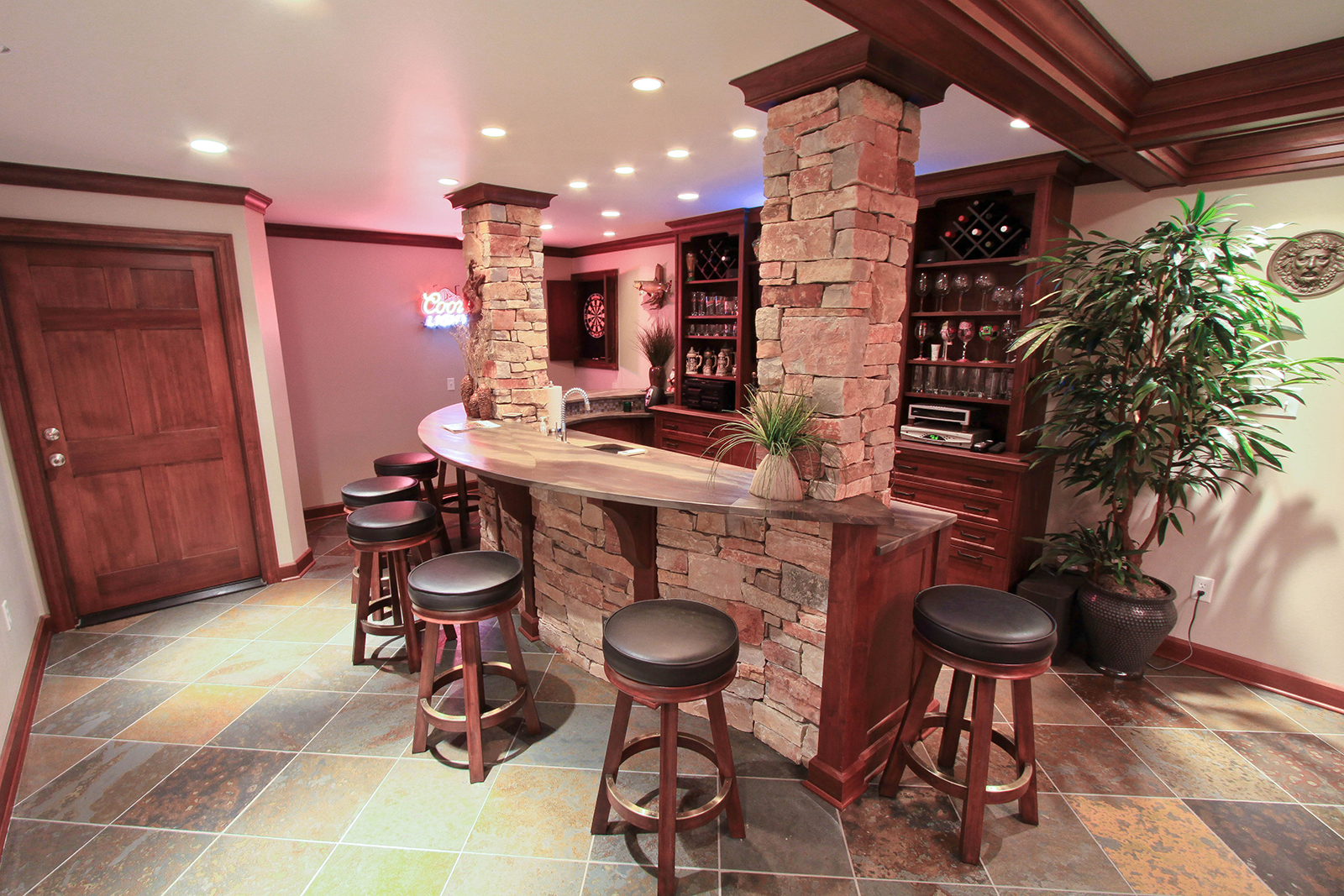 Custom Bar Design - Richmond, VA - Classic Kitchens of Virginia